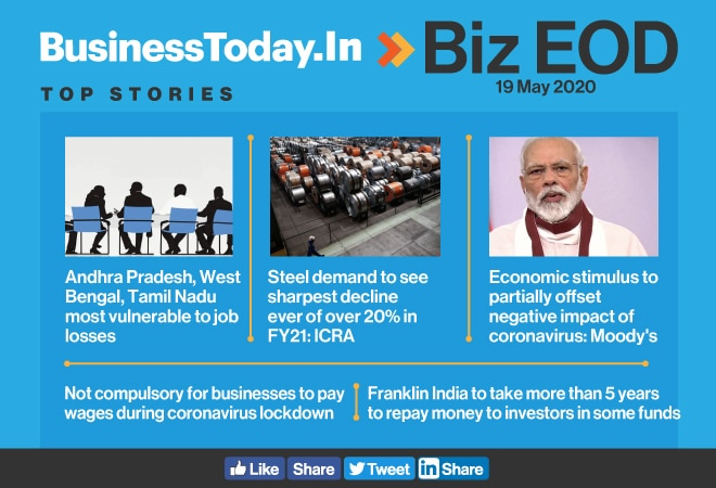 Biz EOD: Stimulus package to fall short; steel demand to tank; compulsory wage payment during lockdown quashed