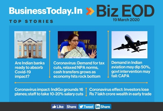 Biz EOD: How ready are banks; tough times ahead for aviation; IndiGo suffers from COVID-19