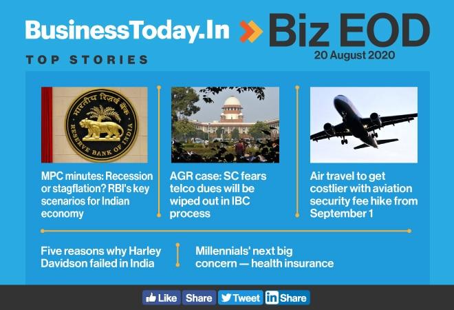 Biz EOD: RBI's key scenarios for Indian economy; why Harley Davidson failed in India; millennials' next big concern