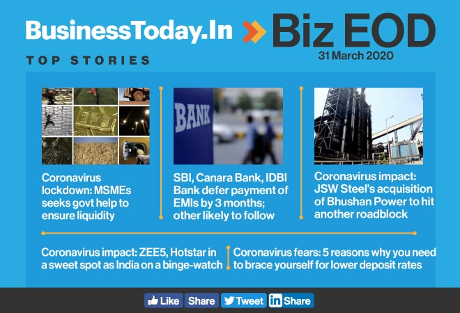 Biz EOD: MSMEs seek govt help; JSW's acquisition plan goes haywire; OTT platforms embrace lockdown