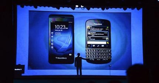 BlackBerry sues startup over iPhone keyboard