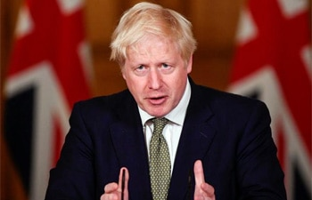 UK PM Boris Johnson urges people to 'behave responsibly' as COVID-19 lockdown eases