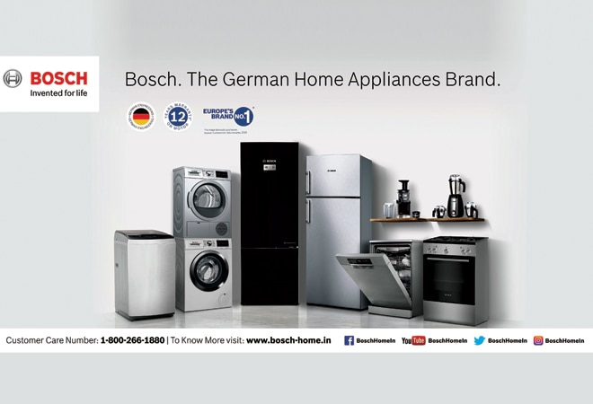 BOSCH: German precision for Indian households