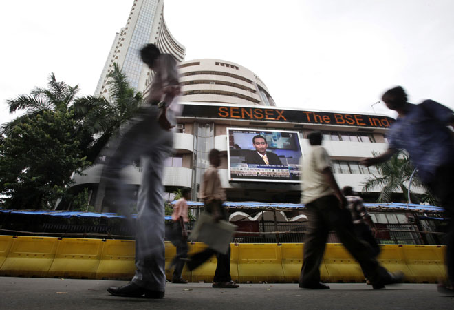 Sensex down 170 points on profit booking, MAT issue