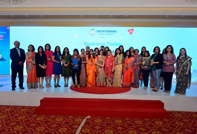 Business Today honours 'Most Powerful Women' who broke the glass ceiling in corporate India
