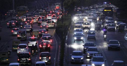"""""""In polluted Delhi, the diesel car of the future may act like a filter on the road"""""""