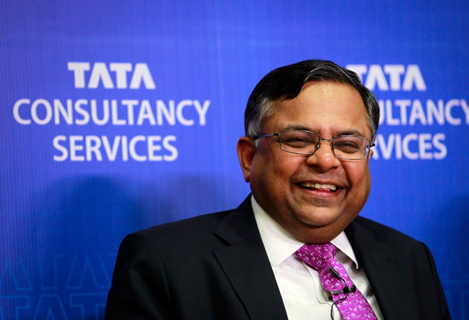 N. Chandrasekaran, MD and CEO, TCS.