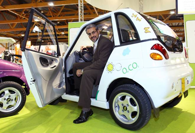 Reva maker Chetan Maini joins hands with Microsoft to set up EV infrastructure in India