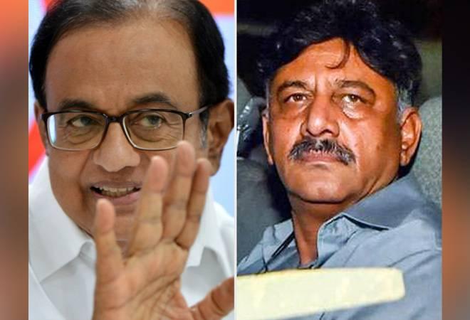 Party colleague DK Shivakumar joins Chidambaram as neighbour in Tihar jail