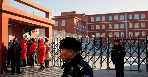 Around 40 students, teachers stabbed in China primary school
