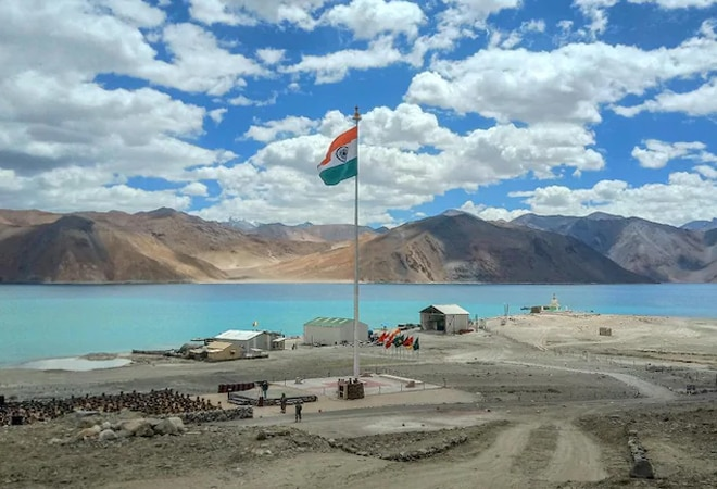 China continues construction activities along the Indian border in Ladakh