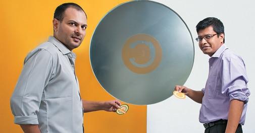 Co-founders Satyen Kothari (left) and Jitendra Gupta at their office in Santacruz, Mumbai