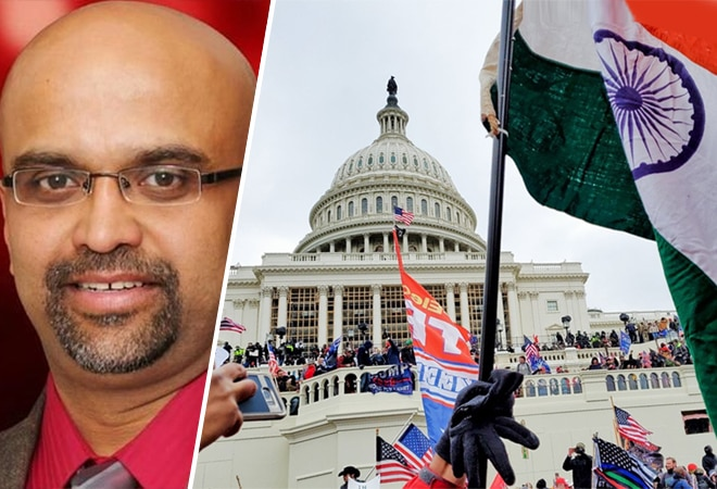 US Capitol violence: Complaint filed in Delhi against Vincent Xavier who waved Indian flag