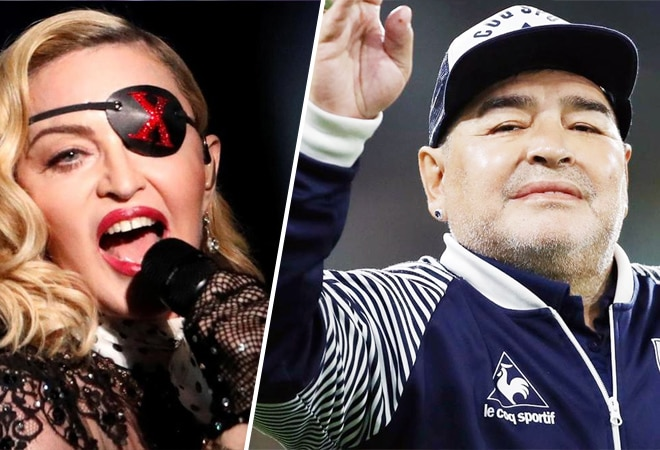 'RIP Madonna' trends on Twitter as users mistake singer for Maradona