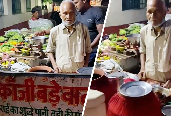 Another 'Baba ka Dhaba' from Agra: 90-year old Kanji-bada seller struggles to make ends meet