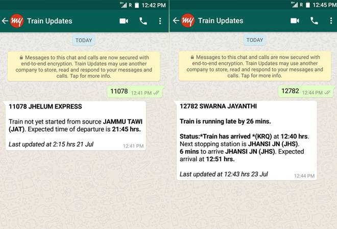 Indian Railways Passengers Can Now Check Train Status On