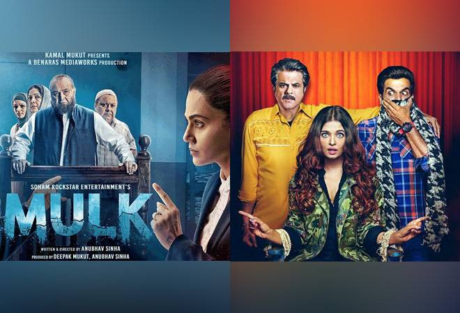 Box Office Collections: Slow start for new releases Fanney Khan, Mulk and Karwaan