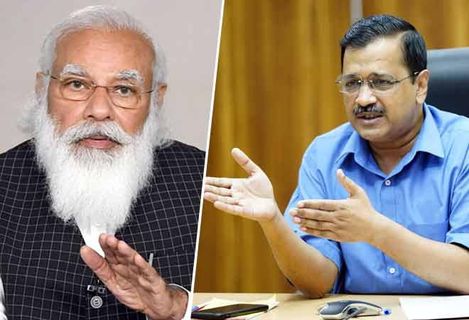 'Bored' Kejriwal during PM-CM COVID conference sparks meme fest on Twitter