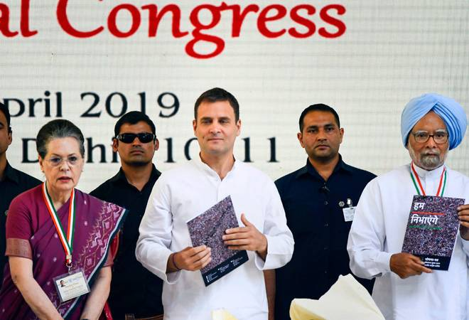 Congress manifesto: NYAY scheme to be tested for 6-9 months before rollout