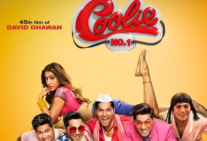 Coolie No. 1 released on Amazon Prime Video; Twitterati react to Varun and Sara's film