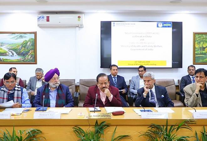High-level Group of Ministers reviews preparedness to tackle coronavirus