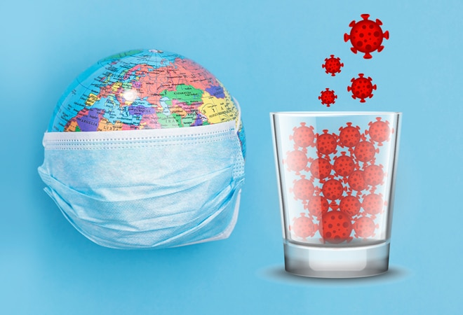 Mathematician claims all the coronavirus in the world can fit in a shot glass