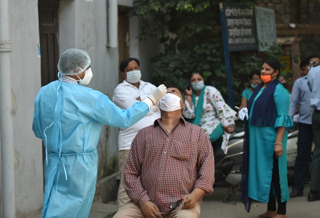 Active Covid-19 cases cross 1.5-lakh mark after spike in Maha, Gujarat, 3 other states