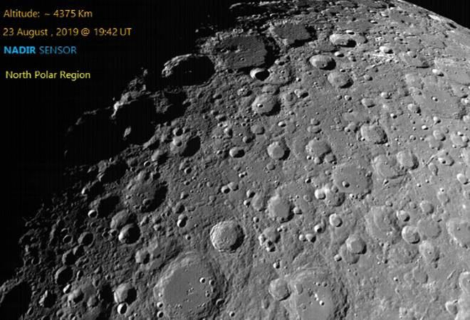 ISRO releases pictures of moon's craters captured by Chandrayaan 2