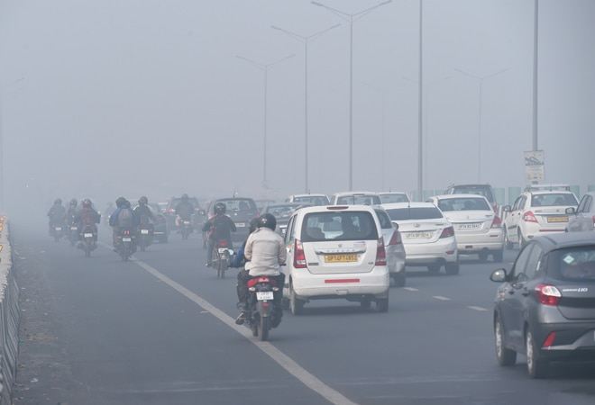 Delhi air pollution: One or more sick in 73% households in NCR