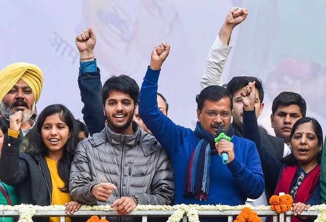 Delhi polls: AAP takes early lead as counting begins