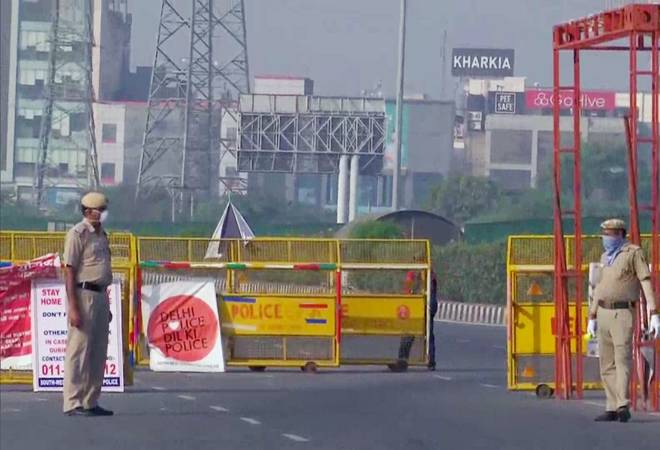 Delhi-Gurgaon border sealed; only essential services, goods allowed as coronavirus cases rise
