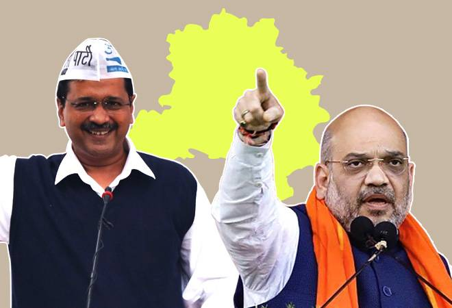 Delhi election result LIVE: AAP leading in 56 seats, BJP in 14, says EC