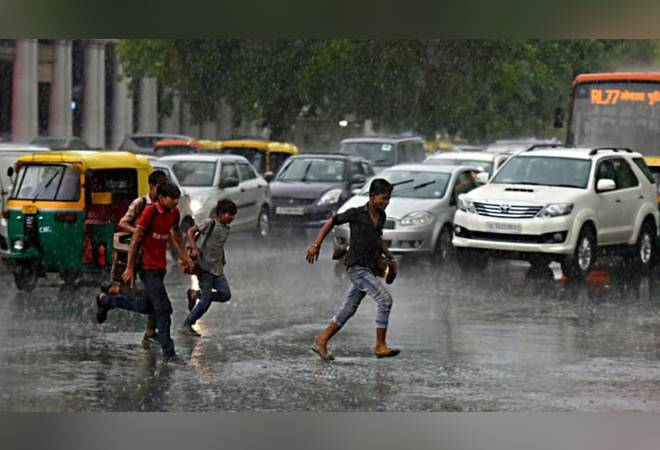 Delhi rains: Heavy showers bring respite to Delhiites; IMD predicts more rainfall in next 24 hours