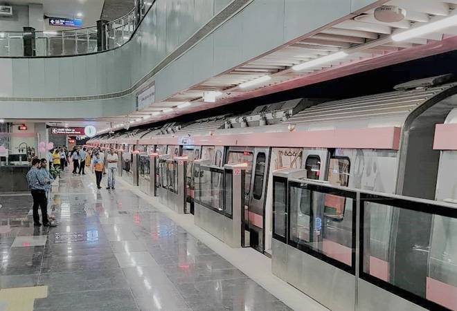 Delhi Metro's Pink Line from Shiv Vihar to Trilokpuri now open for public