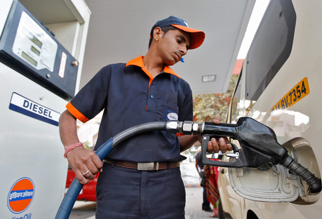 Diesel price hiked by 50 paise per litre