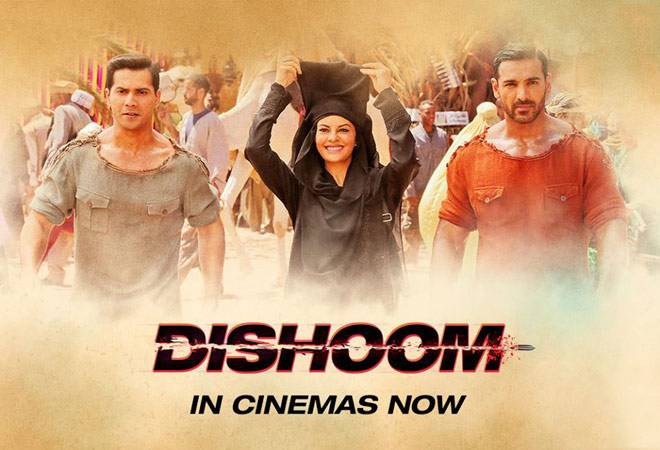 Varun Dhawan and John Abraham's Dishoom earns over 40 crore in 4 days