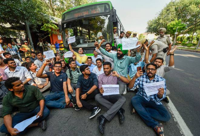 Delhi's resident doctors strike against NMC bill to continue today