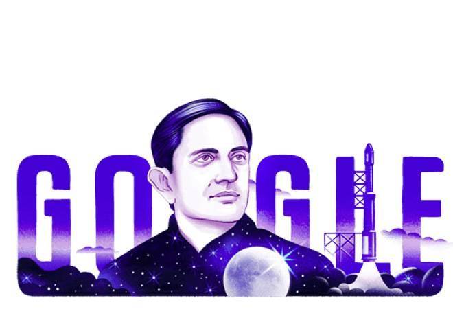 Google Doodle honours ISRO founder Vikram Sarabhai on his 100th birthday