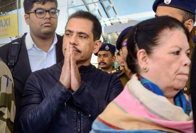 Robert Vadra reaches ED Jaipur office for second round of questioning