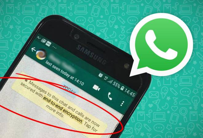 How does WhatsApp end-to-end encryption work