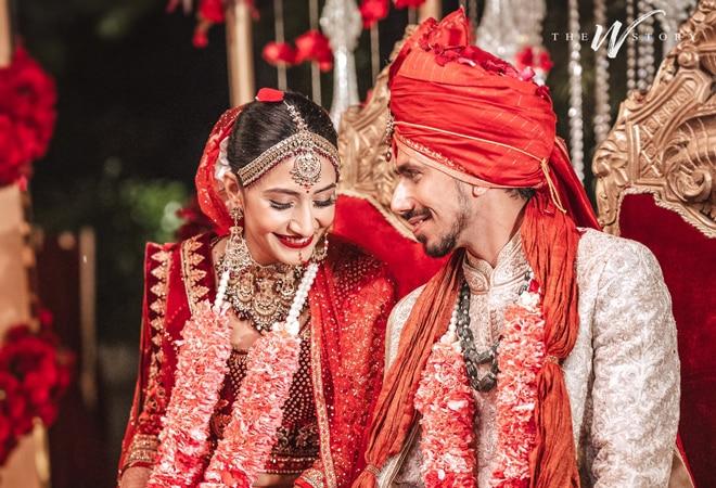 Yuzvendra Chahal's wedding pics go viral; here's how social media reacted