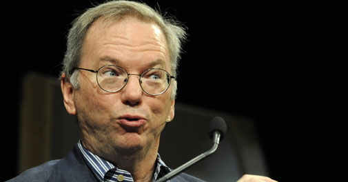 Eric Schmidt asks India to embrace transparency in Internet use