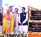 UP CM inaugurates 13 projects worth Rs 2,821 crore in Noida