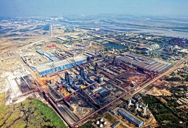 Essar Steel's Hazira complex in Gujarat