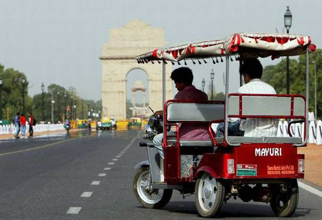 Electric vehicles in Delhi to get green number plates