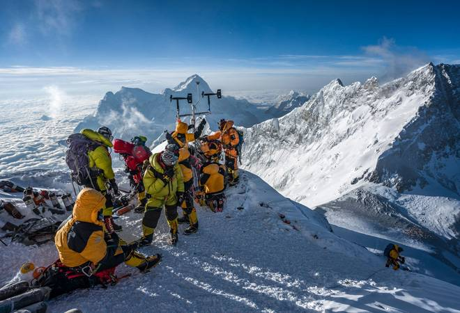 Scientists create history; install world's highest weather station at Mount Everest's Death Zone