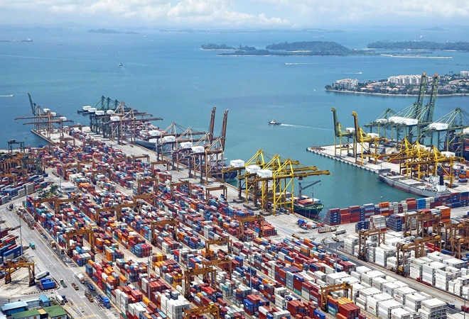 Exports rise 6% in September, trade deficit narrows
