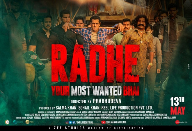 Radhe: Your Most Wanted Bhai trailer released; Salman Khan steals the show