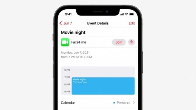 New FaceTime UI in iOS 15