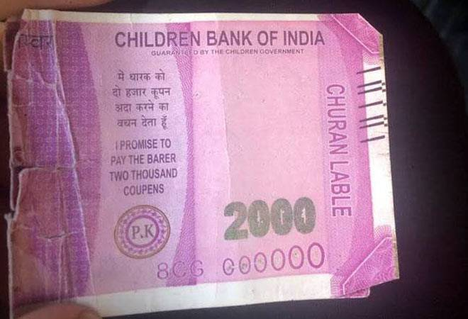 'Children's Bank of India': Delhi police arrests accused over fake Rs 2000 notes
